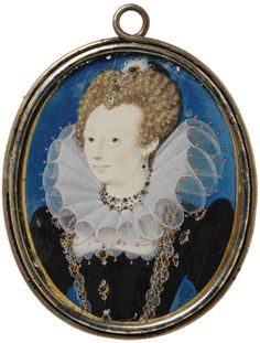 Unknown Woman, c1590, by Nicholas Hilliard