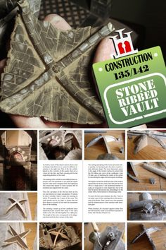 Ribbed Vault, Secret Diary, Construction Materials, Vaulting, Stone, Projects, How To Make, Log Projects, Rock
