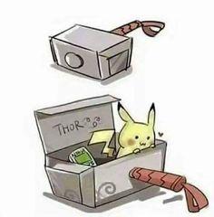 Y así es como funciona el martillo de thor...