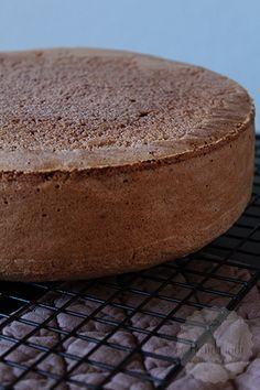 Chocolade biscuit en een recept voor een vanille biscuit, twee goede basis recepten | HandmadeHelen Pie Cake, No Bake Cake, Köstliche Desserts, Delicious Desserts, Biscuit Cake, Cake Recept, Biscuits, Cake Recipes From Scratch, Desserts