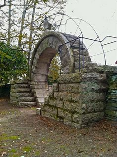"""Chinese """"Moon Gate"""". by Castle Guy, via Flickr"""