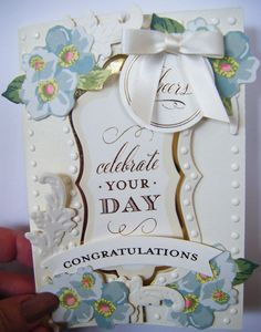 173.Cardmaking Project: Anna Griffin Lets go 'Flipping Fabulous' Flip Ca...
