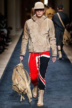 Balmain Spring 2016 Menswear Fashion Show