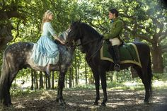 Richard Madden and Lily James in Cinderella-- This is going to be the best Cinderella movie EVER!