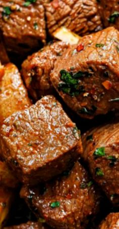 Could You Eat Pizza With Sort Two Diabetic Issues? Garlic Butter Steak Bites And Potatoes Best Beef Recipes, Rib Recipes, Roast Recipes, Meatloaf Recipes, Ground Beef Recipes, Potato Recipes, Dinner Recipes, Meatball Recipes, Favorite Recipes