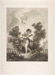 ❤ - L'Amour en Sentinelle.  After Jean Honoré Fragonard  (French, Grasse 1732–1806 Paris).