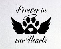 Dog Quotes, Animal Quotes, Paw Print Art, Dog Memorial Tattoos, Memorial Ornaments, Christmas Animals, Dog Signs, Pet Loss, Cricut Creations