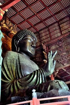 The Daibutsu (Great Buddha), Nara, Japan