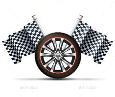 Buy Racing Wheel With Flags by macrovector on GraphicRiver. Realistic auto car wheel with flags racing sport concept vector illustration. Hot Wheels Birthday, Race Car Birthday, Monster Truck Birthday, Cars Birthday Parties, Anniversaire Hotwheels, Festa Hot Wheels, Electric Car Charger, Cars Birthday Invitations, Disney Cars Party