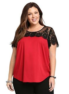 5 plus size outfits with a satin top for Valentine's day