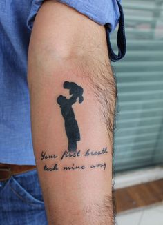 This would be a great father daughter tattoo (it was labeled father son though )