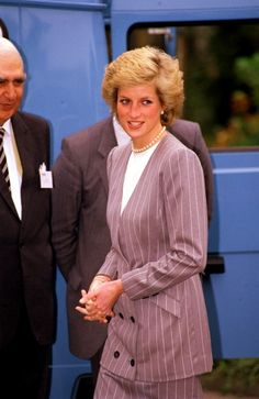1989-10-02 Diana attends the Annual Council Meeting of HelpAge International in aid of Help The Aged