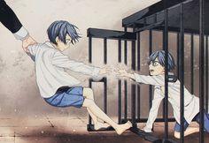 "modestrogue: ""Twins Phantomhive manga ""BLACK BUTLER"" color by @modestrogue"""