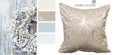 Charming white and silver colors of winter decor. Brilliant color inspiration for wedding decor
