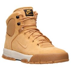 Men's Nike Air Nevist 6 Leather Boots - 454402M 772 | Finish Line