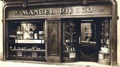 Establecimiento Manuel Riesgo. Foto antigua