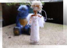Barbiekleid * Barbie als Engel *** - ein Designerstück von Sabisilke bei DaWanda