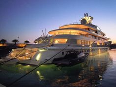 Expensive Luxury Yacht