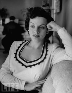 """Kay Starr, Patsy Cline's big idol. """"Walking After Midnight"""" was written for Starr but she turned it down. Many Cline songs are actually covers of Starr songs."""