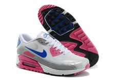 Nike Air Max 90 Women's Air Max 90 Running Shoes 25Th Anniversary A  Max 90 Lunar C3.0 White/Silvery/Pink/Borland|only US$89.00 - follow me to pick up couopons.