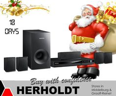 Only 10 days left for Christmas shopping! Come on down to  Herholdts and take a look at our fantastic range of Audio equipment, the ideal gift for any home. #lifestyle #audio #soundsystems