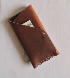 Handmade Leather iPhone  Sleeve |  Stock & Barrel