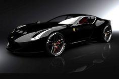 Ferrari 612 GTO Black