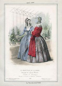 Le Moniteur de la Mode April 1844 LAPL