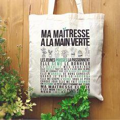 Tote Bag Cadeau Maîtresse Atsem