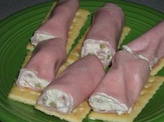 Ham Roll Ups Recipe
