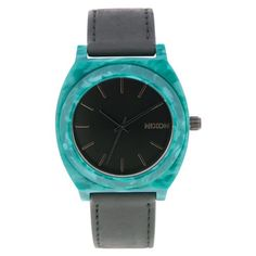 Nixon Women's A328-054 Leather Synthetic with Black Dial Watch >>> Be sure to check out this awesome product.