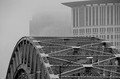 Detroit Superior Bridge by photographer Geoff Baker