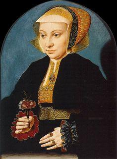 Bartholomäus Bruyn (I) - Portrait of a Woman - WGA03667.jpg