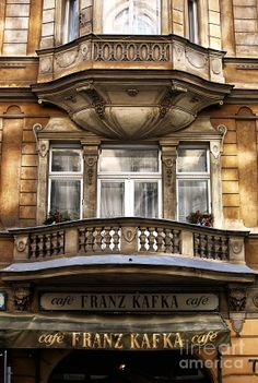Franz Kafka Cafe - #Prague