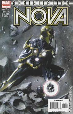Annihilation Nova (2006) 4 Marvel Comics Modern Age Comic book covers Super Heroes Villians