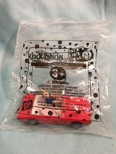 Jack In The Box Jack Vehicle #4 RED GTO 1998 98, Sealed Unopened  | eBay