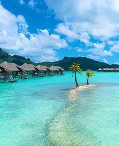 Hope my future hubby would love to go here with me... Bora Bora Beach