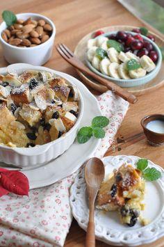 Palm Sugar Coconut Bread Pudding