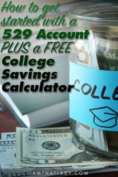Wondering how to get started saving for your kids' College? I want to show you how easy 529 accounts can be PLUS a free calculator! #ad #HerestoFirsts