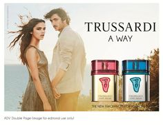TRUSSARDI A WAY FOR HER – TRUSSARDI A WAY FOR HIM  #perfume #Trussardi #FRAGRANCE