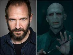 Ralph Fiennes dans le rôle de Lord Voldemort - Harry Potter, 2005-2011