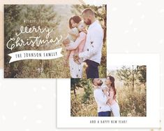 Premium Photoshop templates for photographers by StudioStrawberry Christmas Card Template, Christmas Cards, Johnson Family, Card Templates, Happy New Year, Photographers, Etsy Seller, Photoshop, Handmade Gifts