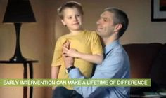 Autism Speaks website...learn the early signs of autism. Early detection leads to early intervention, which can make a huge difference for a child!