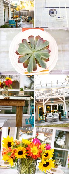 tips for creating an outdoor oasis | the handmade home