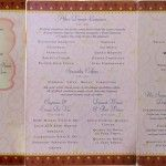 Prince & Princess Dinner Menu • The Disney Cruise Line Blog