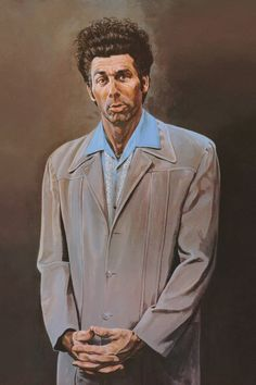 Cosmo Kramer painting by character Nina on Seinfeld.