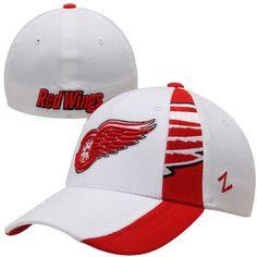 Zephyr Detroit Red Wings Jets Standout Z-Fit Flex Hat - White - $18.99