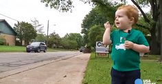Little Boy Forms A Special Bond With A Community Member
