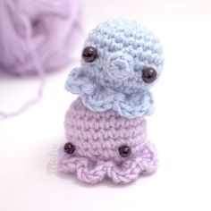 Grab this Super Cute FREE Tiny Octopus Amigurumi Crochet Pattern. Browse more Octopus Patterns or other Animals, and many other Genres • wixxl.com