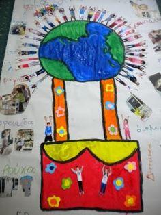 5o - 7o ΝΗΠΙΑΓΩΓΕΙΑ ΤΥΡΝΑΒΟΥ: Τα Δικαιώματά μας International Day, Children, Kids, Kindergarten, Frame, Blog, Earth, Decor, Ideas